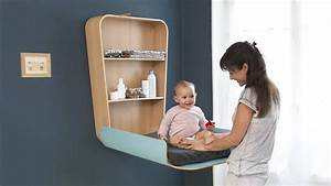 Baby changing station – comfortable and helpful nursery