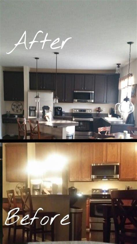 kitchen cabinet transformations my kitchen rustoleum cabinet transformation kit in 2815