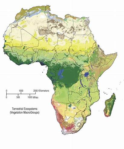 Africa Map Ecosystems Afrika Countries Imgur
