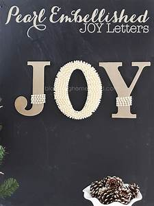 joy letters blooming homestead With joy letters