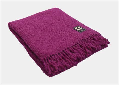 Boucle Alpaca Merino Wool 100% Natural Wool Fringed Blanket Throw Peru 66
