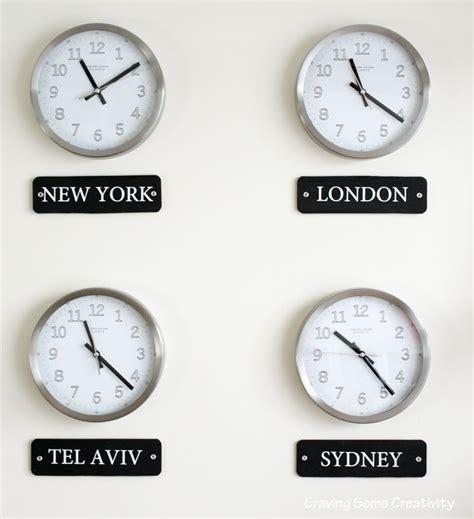 world clock wall display home decor world clock wall