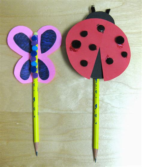 ideas for crafts pencil craft ideas for kids art craft gift ideas