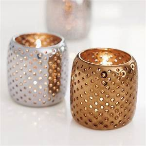 perforated metallic tealight holders traditional by With what kind of paint to use on kitchen cabinets for 3 votive candle holders