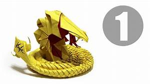 Part1  5   How To Fold Origami Devil Cobra    Hell Cobra
