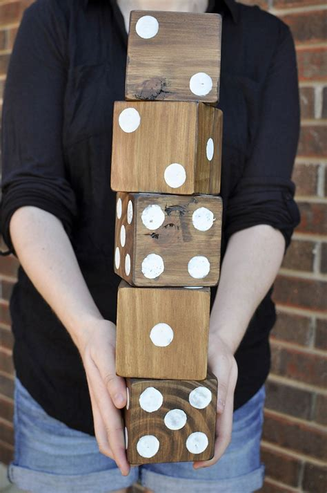 giant yard dice  printable yardzee