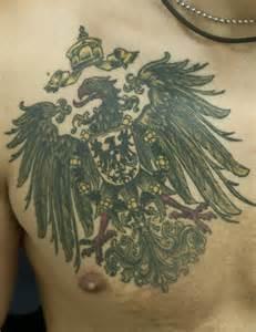 German Empire Eagle Tattoo
