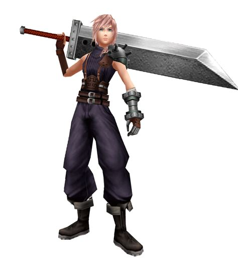 dissidia 012 soldier lightning cloud pose basic by