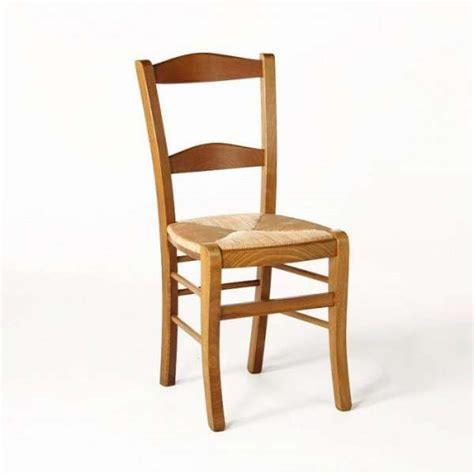 chaise cuisine bois paille 4 pieds vente en ligne