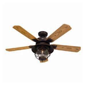 shop hunter 52 quot northshore rustic bronze ceiling fan at