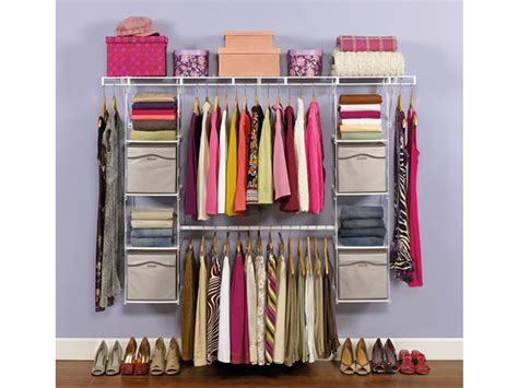 Rubbermaid Closet Helper Max Add-on Organizer