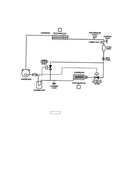 Schematic Diagram Of A Refrigerator Compressor