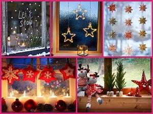 Christmas Window Decorations 20 DIY ideas 2017