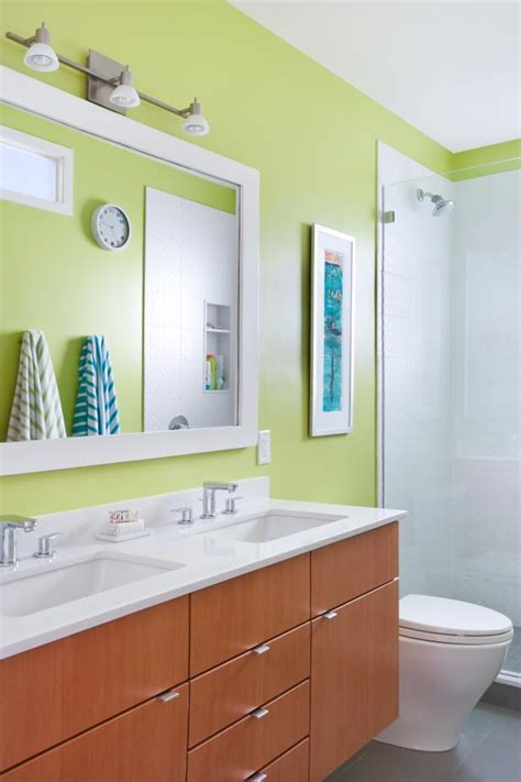 Contemporary Neutral Homes That Dont Need Bold Color To Wow by Bold Bathroom Colors That Make A Statement Hgtv S