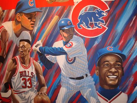 chicago sports legends mural