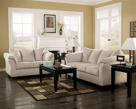 darcy sofa and loveseat ashley furniture living spaces darcy stone sofa loveseat
