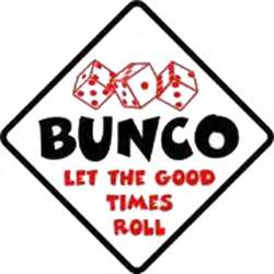 Free Bunco Dice Clip Art