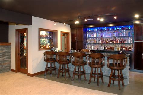 Custom Built Home Bars by Custom Built Home