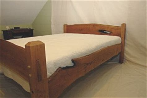 edge cherry bed black dog timberworks