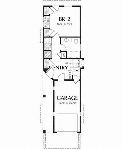 Narrow Plan Cabin Lot Plans