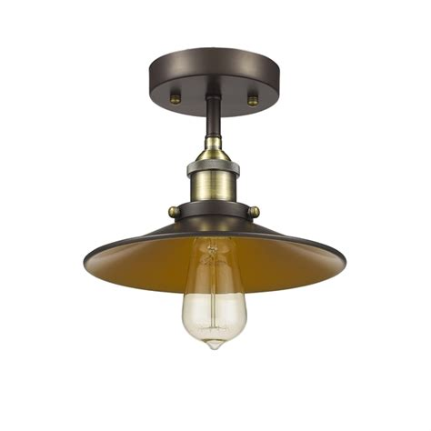 lighting inc ch54012rb09 sf1 semi flush ceiling light