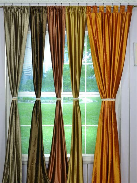 whitney brown solid blackout grommet velvet curtains