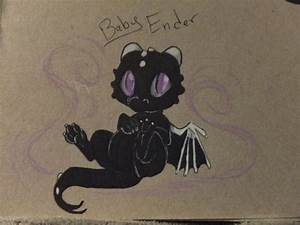 baby Ender dragon :) by FoxDragonLover on DeviantArt
