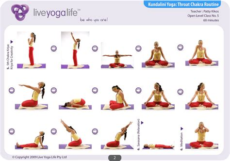 Kundalini Yoga Chakra Program Class 5  Live Yoga Life