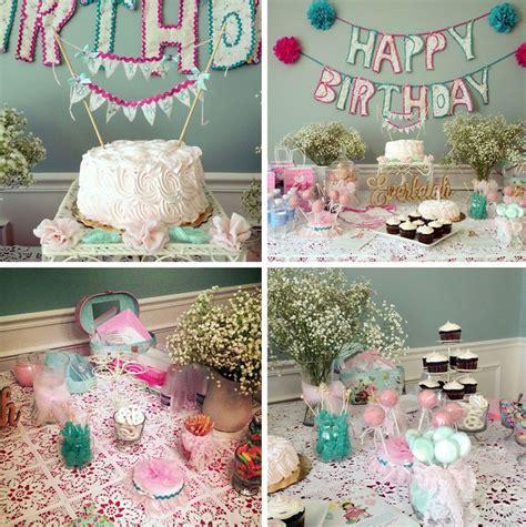 shabby chic 1st birthday shabby chic first birthday party birthday fun pinterest party table cloths shabby and