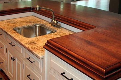 inexpensive alternative to granite countertops wood counter top 5 alternatives to granite kitchen
