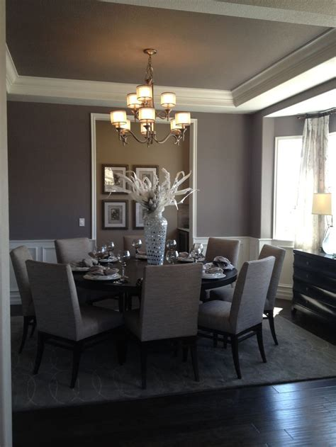 Gray Dining Room Ideas by Simple And Dining Room In Gray With Dining