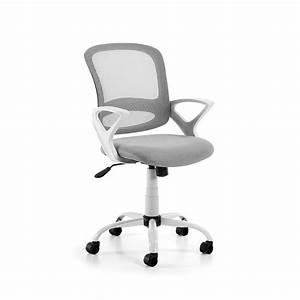 Chaise De Bureau : chaise de bureau pivotante et roulettes tangier par ~ Teatrodelosmanantiales.com Idées de Décoration