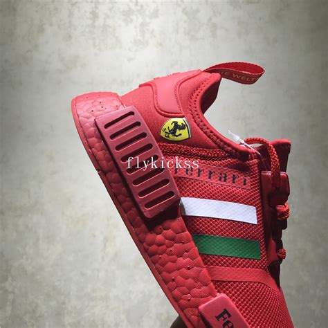 Pharrell williams is a believer in the mantra sneakers should be an extension his adidas nmd hu holi collection casts little doubt on this. Ferrari X Adidas NMD XR1 Red BA7788 : www.flykickss.net ...