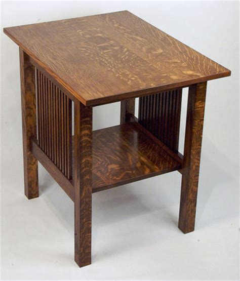 Bedroom End Tables Plans by Woodworking Plans Mission Style End Table
