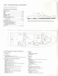 1972 42 U0026 39  Chris Craft Constellation Specs And Floorplan