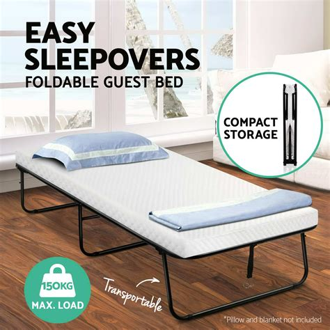 portable folding bed foldable guest hotel beds single