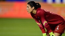 Hope Solo sets aside tumult and focuses on her last goal ...