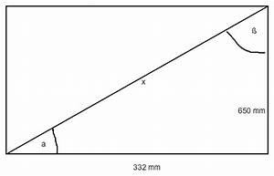 Tan Alpha Berechnen : winkel winkel der verstrebung berechnen rechteck mit diagonalen mathelounge ~ Themetempest.com Abrechnung