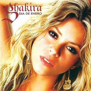 Copertina cd Shakira - Dia De Enero - Front, cover cd ...