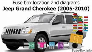 Fuse Box Location And Diagrams  Jeep Grand Cherokee  Wk