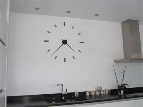 horloge moderne cuisine pendule moderne cuisine horloge murale design pour