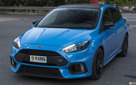 Ford Performance Focus Rs by Ford Focus Rs Performance Limited Edition 2018 18 June