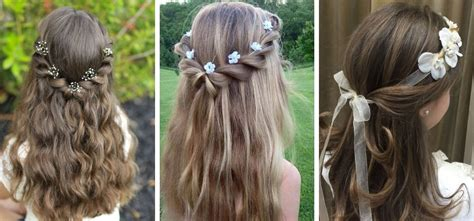 fryzury na pierwsza komunie duzo zdjec blog hairstore