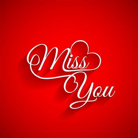 Missing You Images Miss You Vectors Photos And Psd Files Free