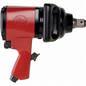 Chicago Pneumatic Air Impact Wrench  U2014 1in  Drive  10 Cfm