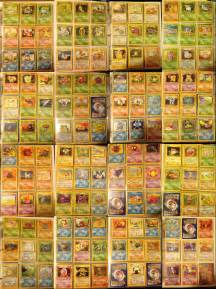 Pokemon Cards 1st Gen Collection