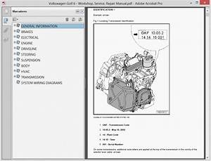 Volskwagen Golf 6 - Service Manual