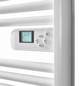 Thermostat Pour Seche Serviette Electrique : comment choisir un s che serviettes lectrique castorama ~ Premium-room.com Idées de Décoration