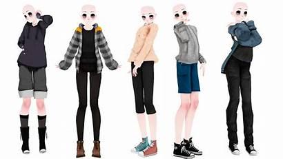 Mmd Dl Base Male Deviantart Pack Clothes