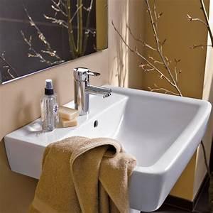 Waschbecken 60 X 30 : keramag renova nr 1 plan waschtisch 48 x 60 cm wei keramik bauhaus ~ Markanthonyermac.com Haus und Dekorationen